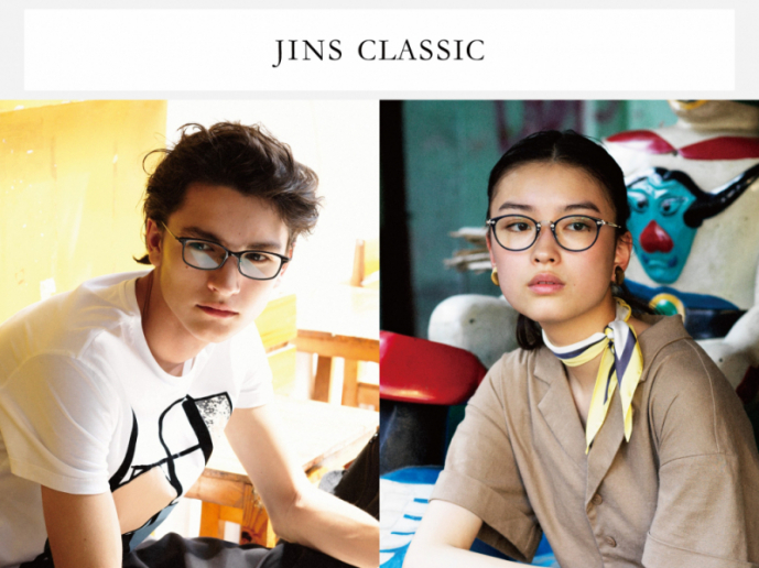 JINS CLASSIC 春の新作登場!