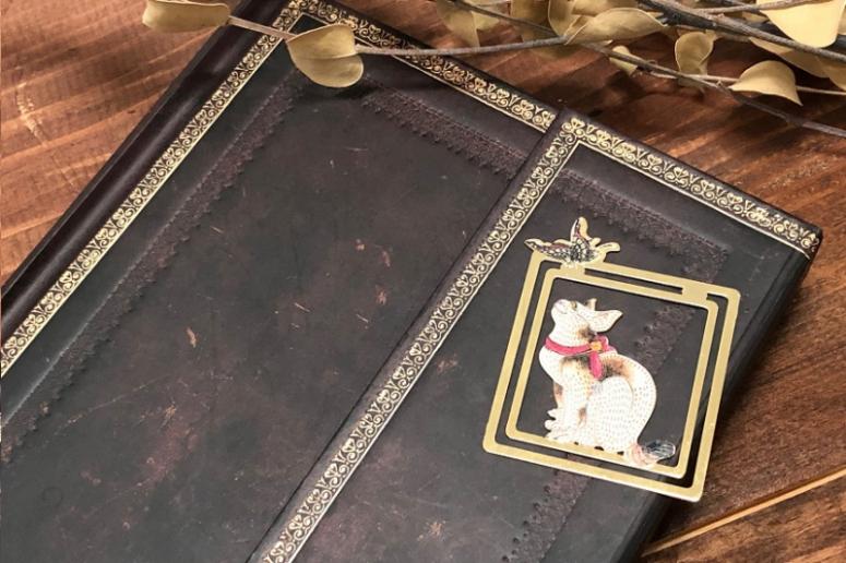 美しいデザインのブックマークとノートをご紹介いたします。