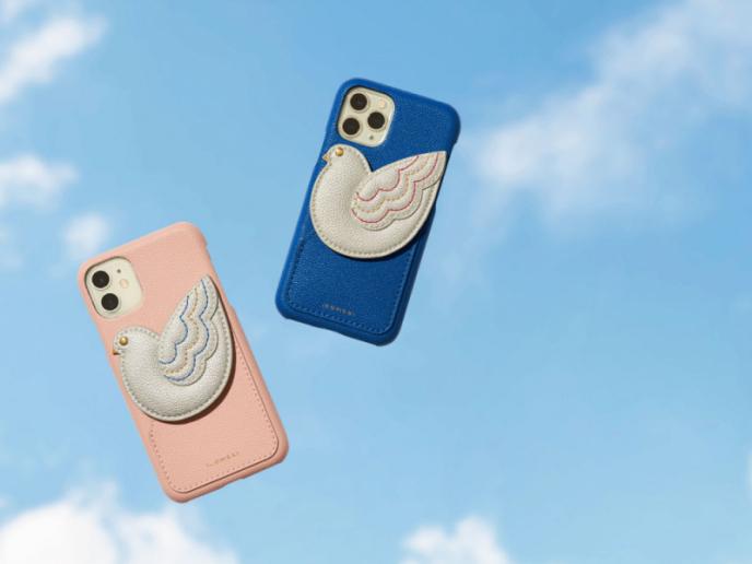 愛らしい鳩モチーフの新作iPhoneケース販売開始!