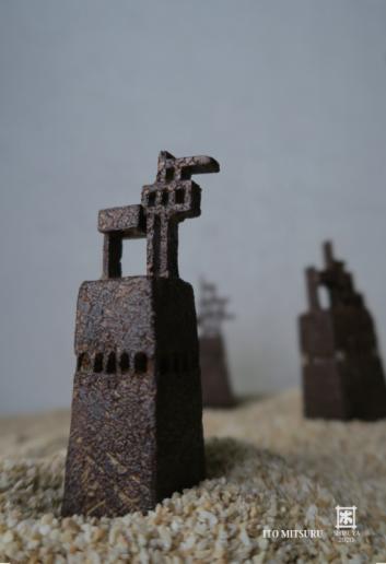 伊藤満 陶展『西岸の果て』