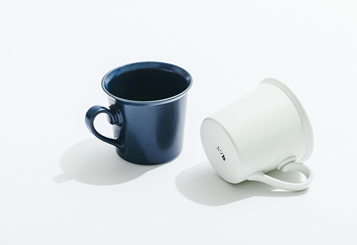 【4F】<ベーシックアンドアクセント>波佐見焼マグカップ