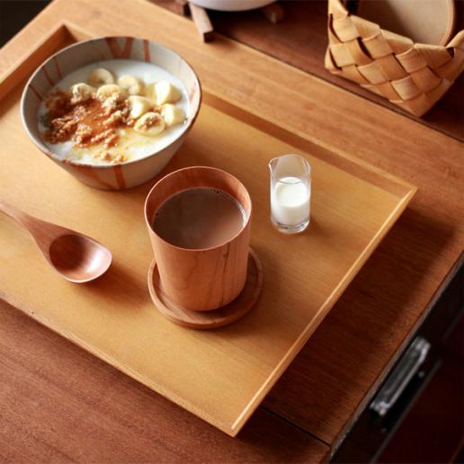 毎日使えるおしゃれな木製トレイ「3colors tray」
