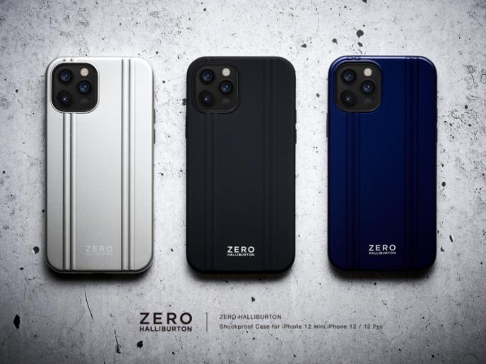iPhone12 / 12 Pro / 12 mini対応!ZERO HALLIBURTON 背面ケース!