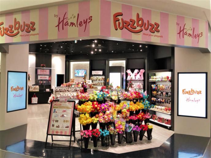 Fuzzbuzz by Hamleys   11月12日(木)3Fにオープンしました