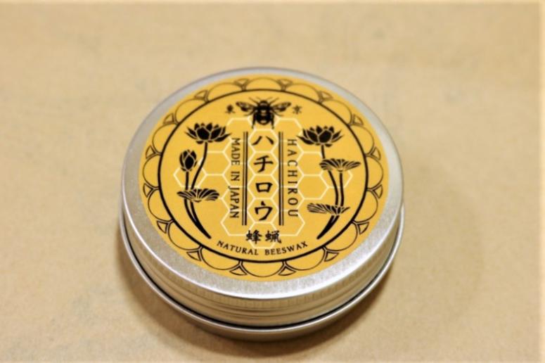 sot(ソット)オリジナルの蜜蠟ワックス「ハチロウ」