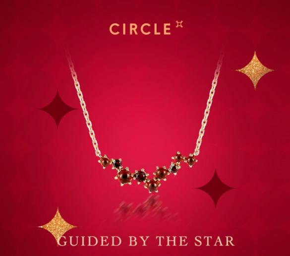 【3F CIRCLE】1月誕生石のご紹介