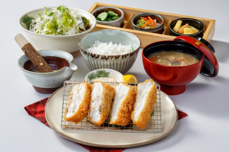 4月限定!愛媛県産の真鯛を使った鯛かつ