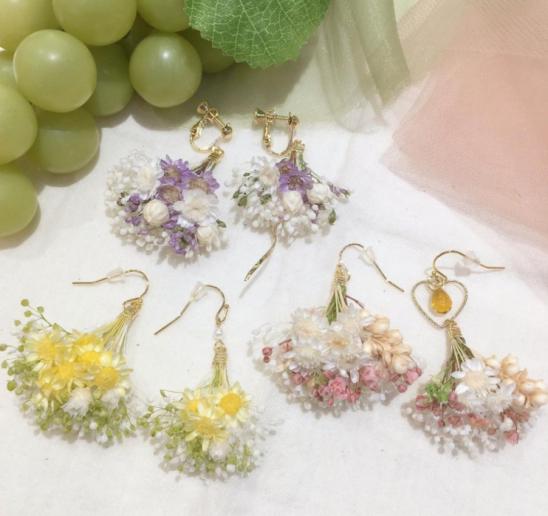 【春の新作】iluiluフラワーブーケアクセサリー新入荷!