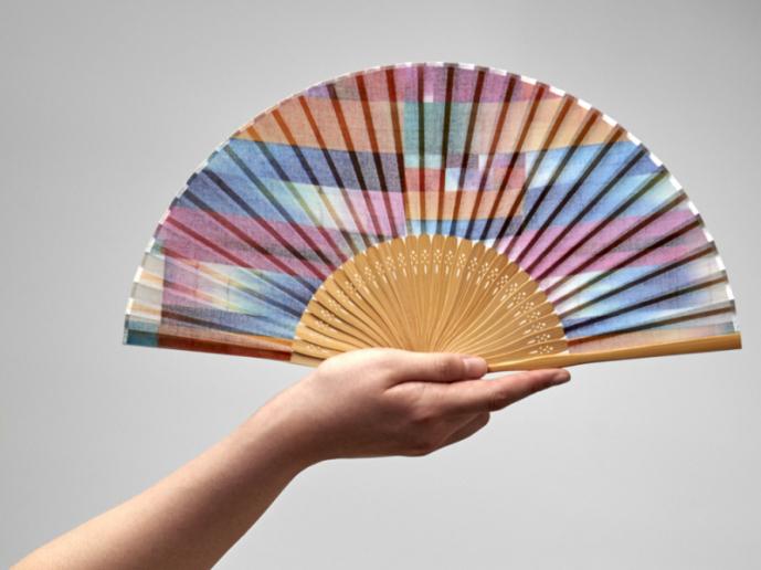 【marumasu】昔ながらの製法で仕立てた綿扇子