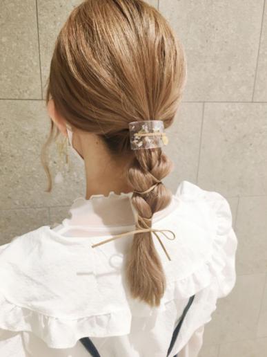 【おすすめ】梅雨時期のヘアアレンジ