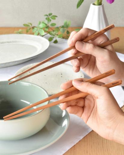 【ウェディング】特別な二人へ贈る「夫婦箸」