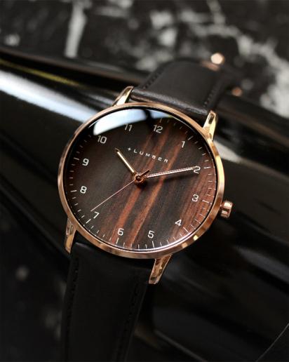 【pick up!】文字盤に本木目を使用した曲面ガラスが美しい腕時計 WATCH 8800