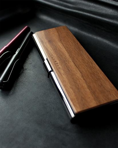 【Pick up!】ステンレスと木を組み合わせたおしゃれな筆箱・ペンケース