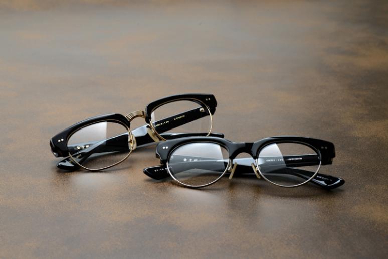 レトロでおしゃれなサーモント眼鏡