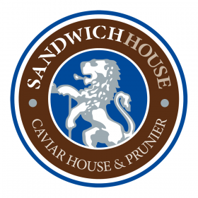 CAVIAR HOUSE & PRUNIER / SANDWICH HOUSE ロゴ