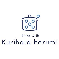 share with Kurihara harumi ロゴ