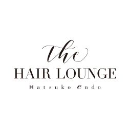The HAIR LOUNGE Hatsuko Endo ロゴ