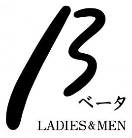 β  LADIES & MEN ロゴ