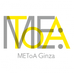 三菱電機イベントスクエア METoA Ginza ロゴ