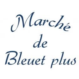 Marché de Bleuet plus ロゴ